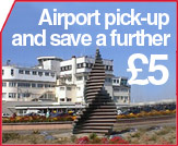 Pick Up from Jersey Airport for discount