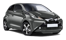 Toyota Aygo car for hire
