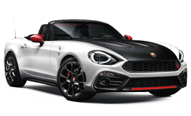 NEW Abarth Spider car for hire